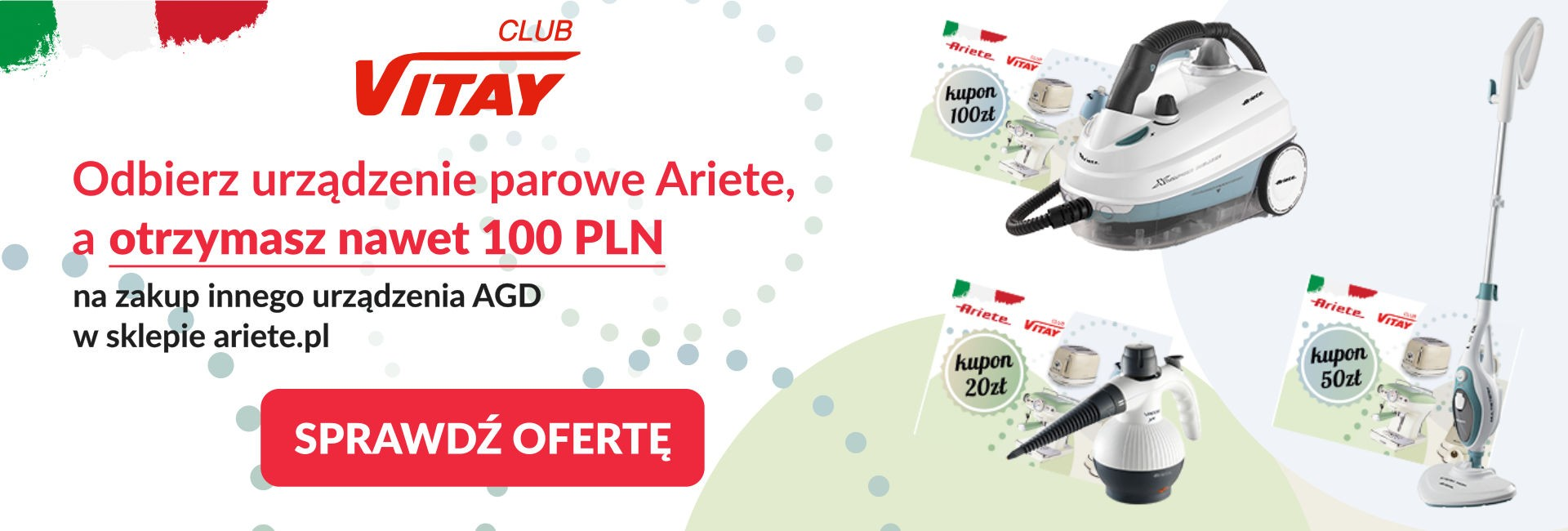 Pełną parą na zakupy w sklepie Ariete.pl