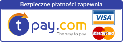 Bezpieczne płatności zapewnia tpay.com